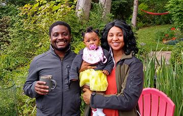 ChemE alumnus EK and his family